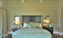 Bedroom Wallpaper Trellis Pattern by Paper Moon Painting San Antonio, wallpaper trends