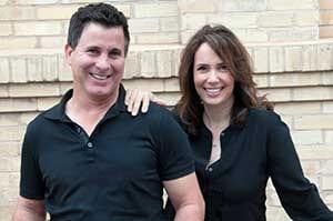 Peter Moon and Lisa Moon of Paper Moon Painting company, San Antonio interior painters