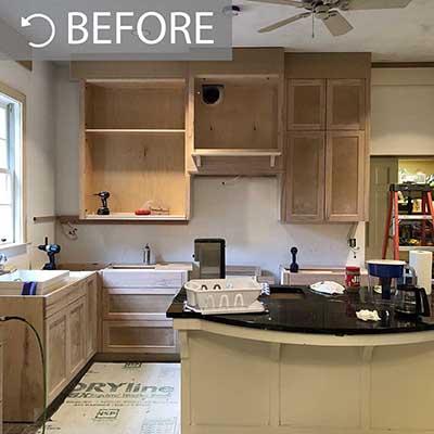 Alamo Heights kitchen remodel in progress