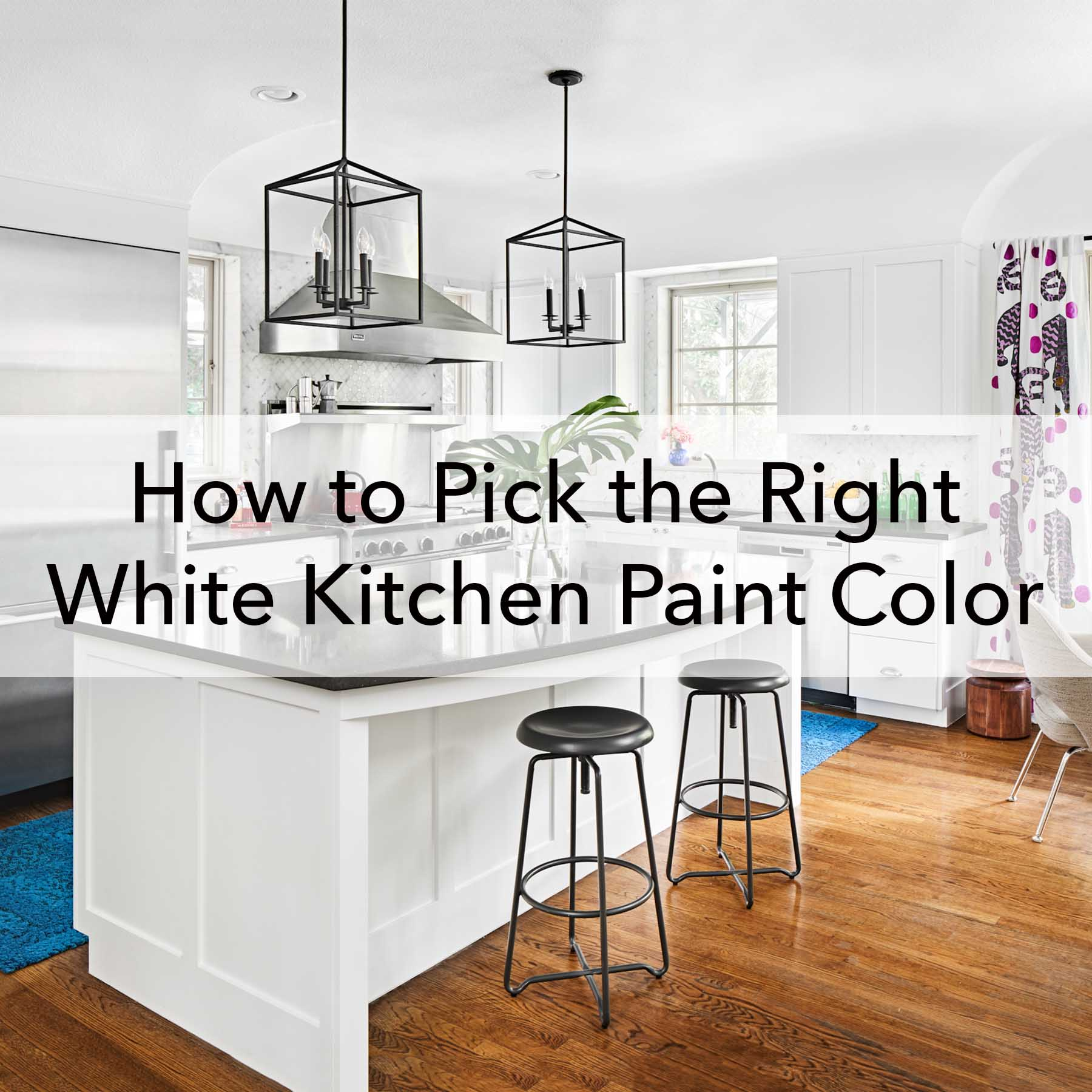 White Kitchen Paint Color blog - how to pick, Paper Moon Painting