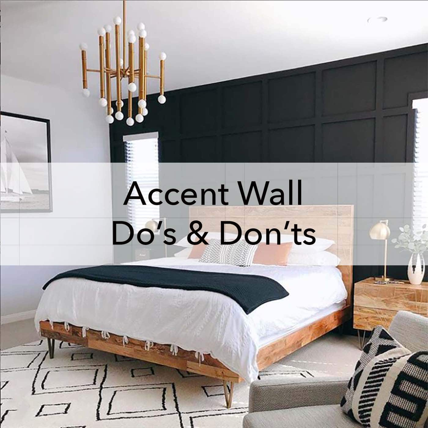 Accent Wall Do S And Dont S Paper Moon Painting