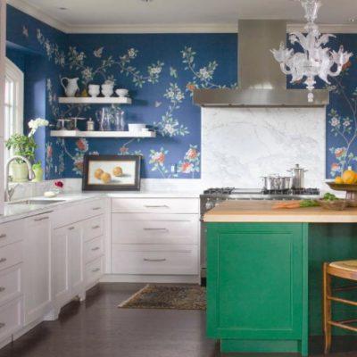 Andrea Schumacher eclictic kitchen, Houzz blog, Paper Moon Painting design advice