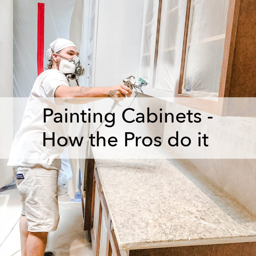 Painting Cabinets - How the Pros do it, blog, Paper Moon Painting, Austin TX
