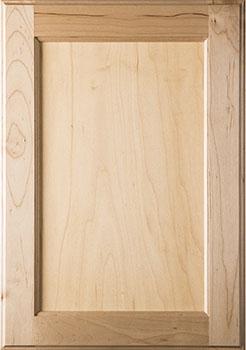 Maple fine-grained cabinet door sample