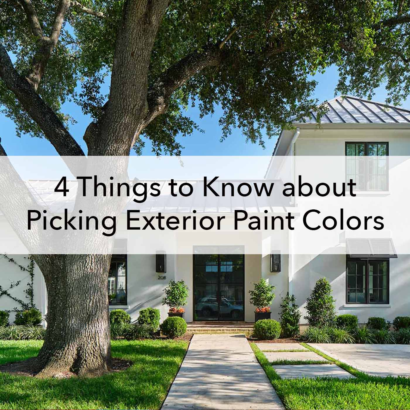 10 Things to Know about Picking Exterior Paint Colors   Paper Moon ...