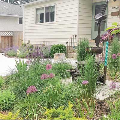 Exterior curb appeal, design a garden, blog