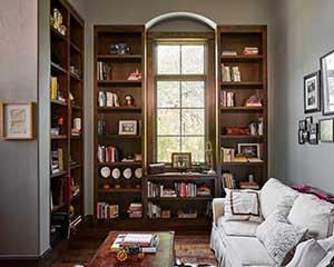 Lake Austin interior paint project, Austin house painter