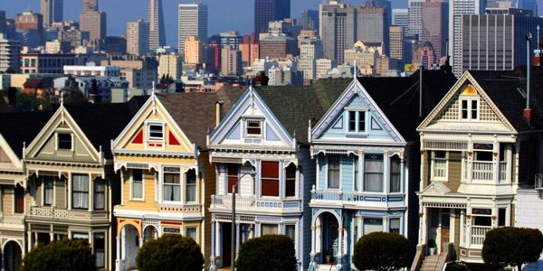 Painted Ladies, San Francisco, photo by JonDoeForty1