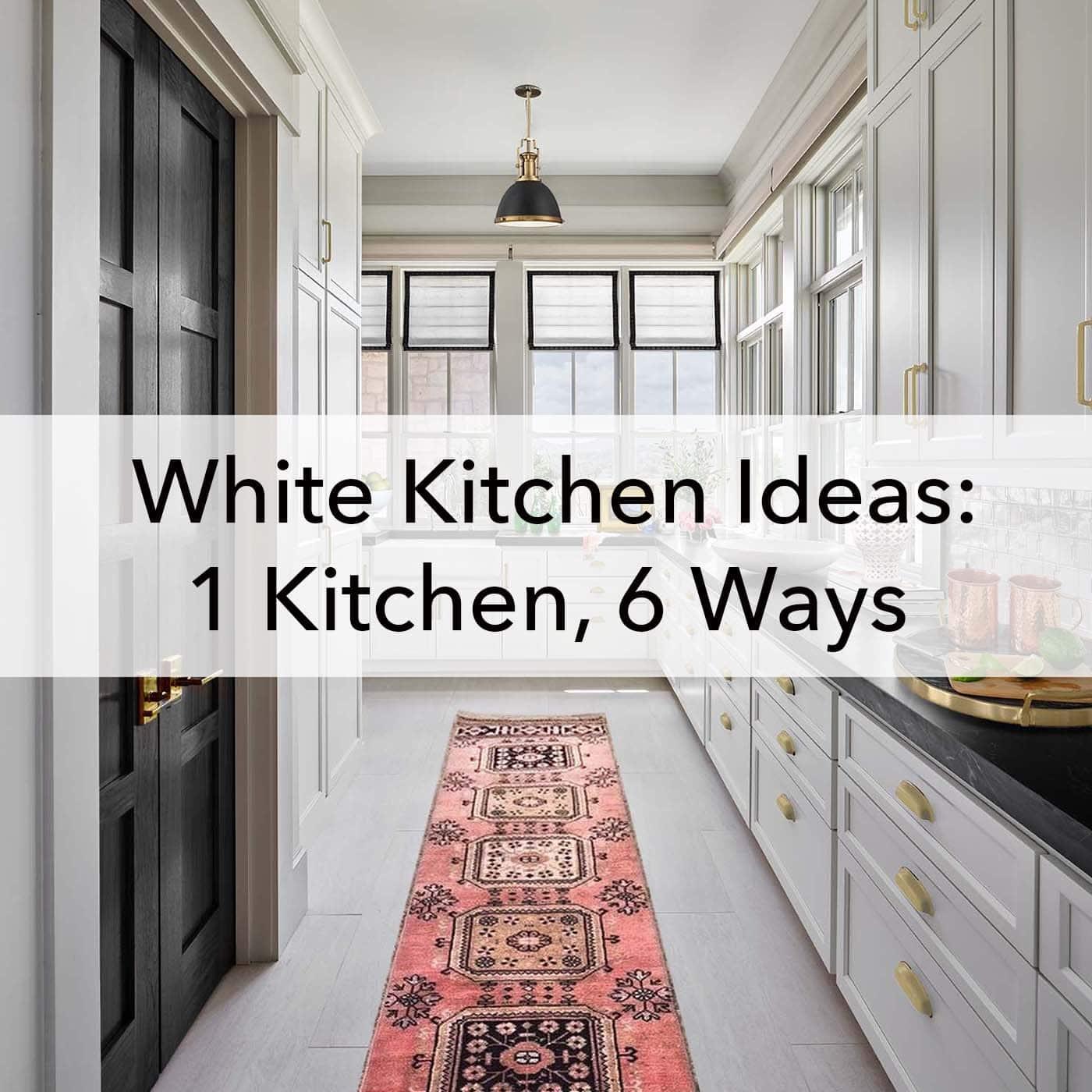 White Kitchen Ideas 1 6 Ways Paper Moon Painting