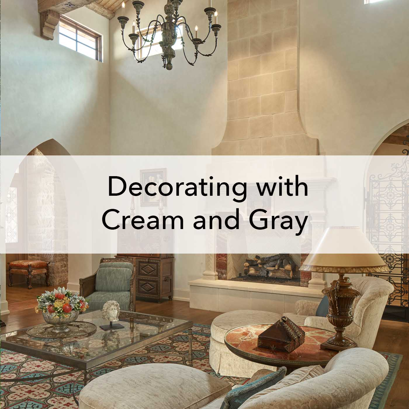 Decorating With Cream And Gray Paper Moon Painting